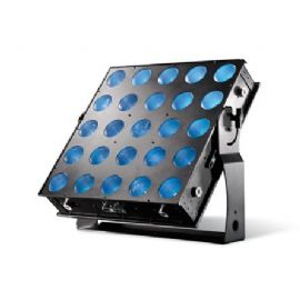 FARO PROIETTORE A LED 25 X 30 W RGB COB LED 60° X 15° 5X5 PIXEL CUBE RED LIGHTING PIXELCUBE