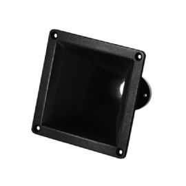 "TROMBA HF HORN IN ABS 0.75"" Pollici (19mm) 60°x40° 122x122x105 mm ME 7 B&C Speakers"