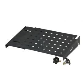 Accessorio per Laptop Stand V2 che permette di supportare una interfaccia o dispositivo audio INTERFACE TRAY RELOOP