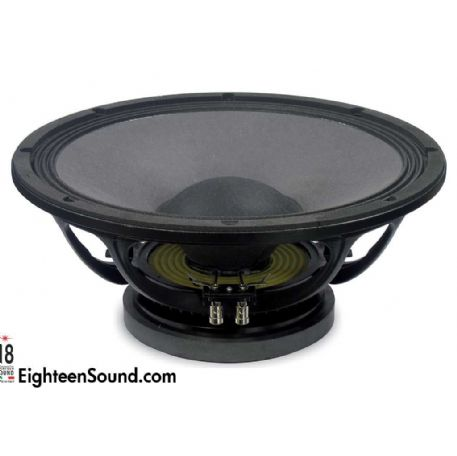 "ALTOPARLANTE WOOFER 15"" POLLICI 38 Cm 600 Watt 4 OHM 15 W 750 18 SOUND EIGHTEEN SOUND"