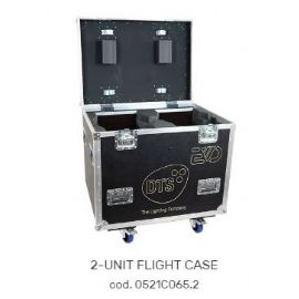 FLIGHTCASE FLY CASES CASE PER 2 MOTORIZZATI TESTA MOBILE EVO 86x63x85 cm DTS LIGHTING
