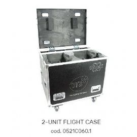 FLIGHTCASE FLY CASES CASE PER 2 MOTORIZZATI TESTA MOBILE MAX 86x63x85 cm DTS LIGHTING