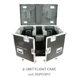FLIGHTCASE FLY CASES CASE PER 2 MOTORIZZATI TESTA MOBILE WONDER 590 x 1040 x 800 mm DTS LIGHTING