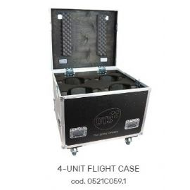 FLIGHTCASE FLY CASES CASE PER 4 MOTORIZZATI TESTA MOBILE NICK NRG 1201 860x730x790 mm DTS LIGHTING