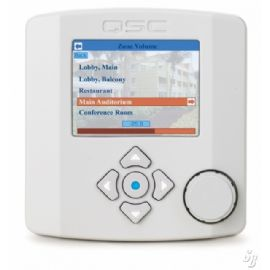 Controller audio di rete per i sistemi QSControl.net; display grafico a colori, POE (Power Over Ethernet) Bianco NAC-100-WH QSC NAC100WH