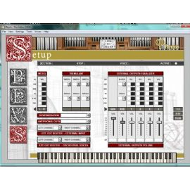 SOFTWARE PC PER ORGANO LITURGICO SERIE PHYSIS ORGANS EDITOR VISCOUNT