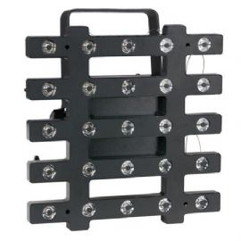 Accecatore a Matrice LED 25 x 3 Watt White-PIX DMX, Kling- & Artnet Showtec 42278