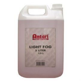 Liquido Olio Fumo 5 Litri Smoke Fluid Light Antari 60590