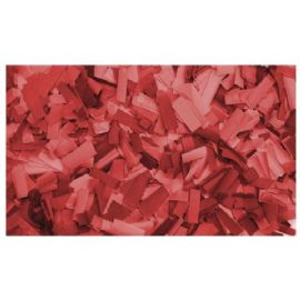 Coriandoli Ignifugo Red Confetti 55x17mm slowfall 1kg Flameproof Showtec 60910R