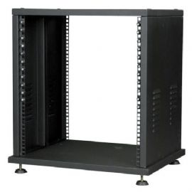 Mobile Rack 16 Unità RCA-MER16 Metal Equipment Rack 16U 560 x 460 x 825 mm DAP Audio D7601