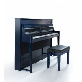 PIANOFORTE DIGITALE A MURO 88 TASTI IN LEGNO PORTA USB Physis Piano V100 BLU VISCOUNT V 100