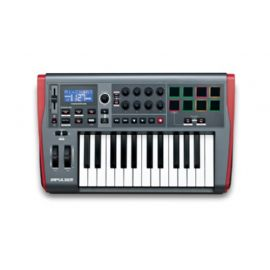 TASTIERA CONTROLLER MIDI USB 25 TASTI SEMIPESATI NOVATION Impulse 25