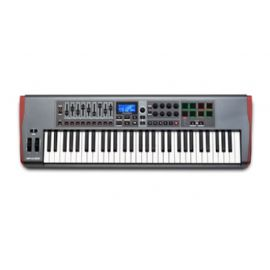 TASTIERA CONTROLLER MIDI USB 61 TASTI SEMIPESATI NOVATION Impulse 61