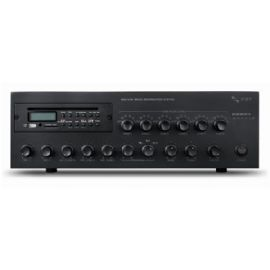 Amplificatore 240W RMS, 6 zone, CD/MP3/USB/SD CARD e tuner, 25V/70V/100V/8Ohm FBT MDS6240