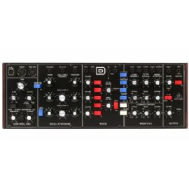 BEHRINGER MODEL-D SINTETIZZATORE ANALOGICO 3 VCO FILTRI LADDER ED LFO INTERFACCIA MIDI IN/THRU + 5 PIN