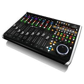 BEHRINGER X-TOUCH CONTROLLER SUPERFICIE DI CONTROLLO 9 FADER MOTORIZZATI INTERFACCIA ETHERNET MIDI USB