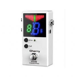 ACCORDATORE A PEDALE TUNER BIANCO PT-02 CHERRY MUSIC - Grado A